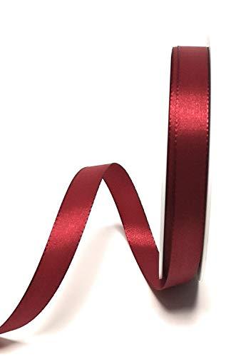 Konrad Arnold Dekoband 50m x 15mm weinrot - Bordeaux Taftband Geschenkband Schleifenband