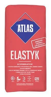 Atlas ELASTYK Fliesenkleber Flexkleber Flexmörtel hochelastische Klebemörtel 25kg 1A