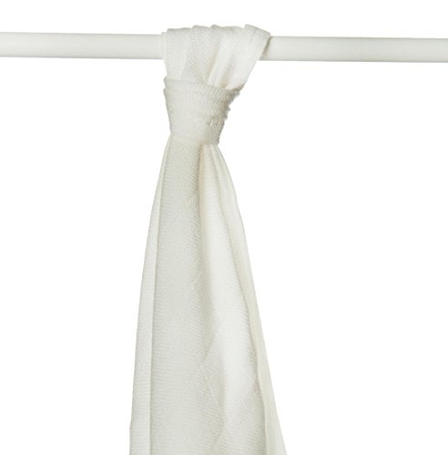 XKKO BMB090004A Bamboe luierdoeken om te wikkelen, bij borstvoeding te geven, als onderlegger of lichte deken, luiers 90 x 100 cm, beige