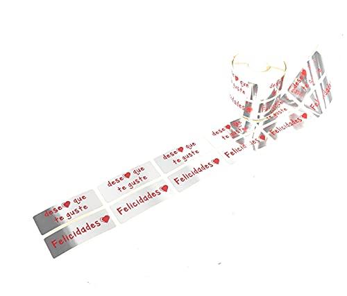 Etiquetas Regalo Adhesivas Espero Que Te Guste Marca Personal Labels