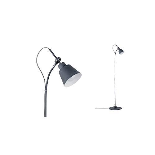 Paulmann 79682 Neordic Thala Stehleuchte max. 1x20W Stehlampe für E14 Lampen Standleuchte Grau Fluter 230V Metall ohne Leuchtmittel