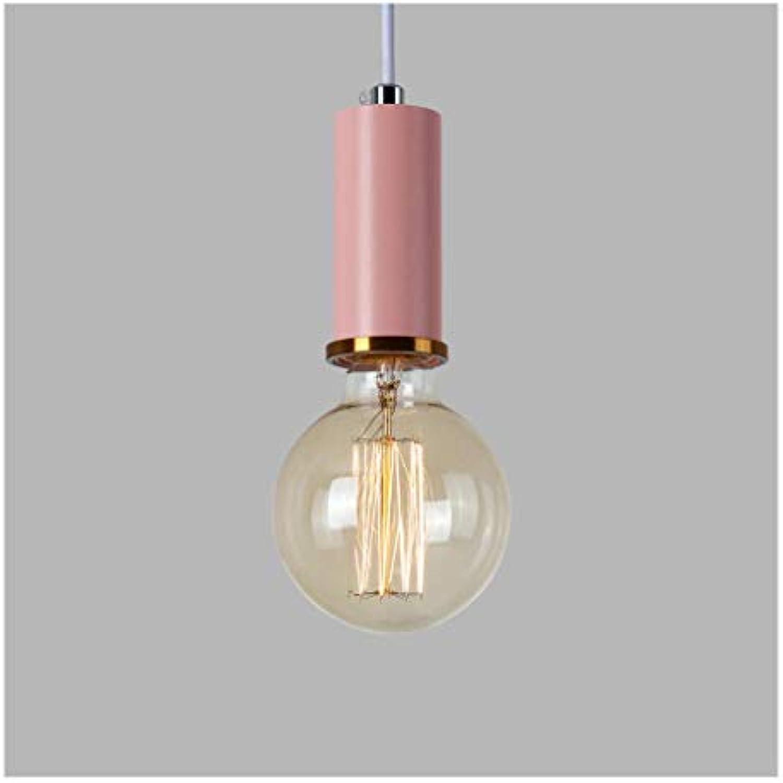 Kronleuchter Industrial Wind Kronleuchter-LED Modern Minimalist Bar Warhead Aluminium Kronleuchter (Farbe  B-Weiß Light)