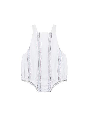 Gocco Ranita Rayas Petos, Beige (Crudo S06vrtca901ea), 68 (Tamaño del Fabricante: T: 6/9) para Bebés
