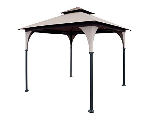 APEX GARDEN Replacement Canopy Top for 8' x 8' Gazebo #L-GZ375PST, L-GZ375PST-3