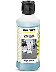 Kärcher Universele Vloerreiniger, RM 536 voor FC 3 en FC 5, Volume: 0,5 L, voor Harde Vloeren, Streepvrije Reiniging, Blauw