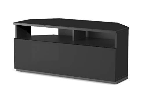 SONOROUS - Mobile TV ad angolo, larghezza 100 cm, colore: nero, rif. TRD-100 NN