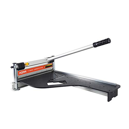 Norske Tools KORR KMAP001 9 inch Laminate Flooring and Siding Cutter with Heavy Duty Fixed Aluminum Fence and Built-in Precision Angled Miter Settings