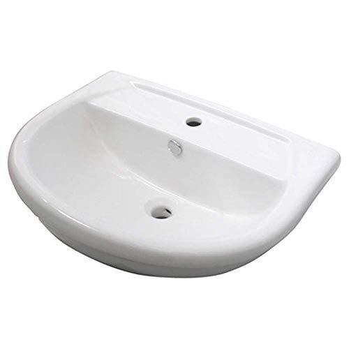 Lavandino LAVABO SERIE KAILA Monoforo Sanitari Ceramica LINPHA L 56