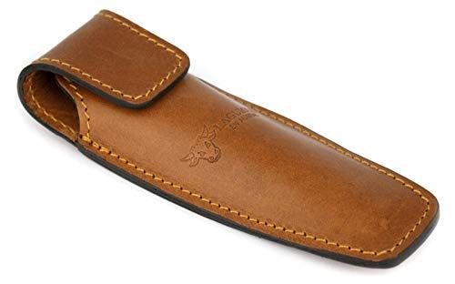 LAGUIOLE en Aubrac ECA braunes Gürteletui aus Leder für EIN Taschenmesser