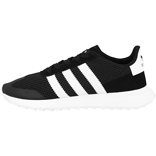 Adidas Flashrunner, Zapatillas de Deporte Mujer, Negro (Negbas/Ftwbla/Negbas 000), 38 EU