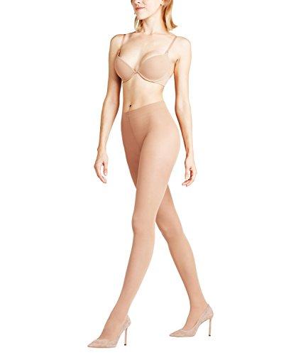FALKE Damen Shelina Toeless 12 DEN W TI Strumpfhose, ultra-transparent, Beige (Sun 4299), M (DE 40-42)