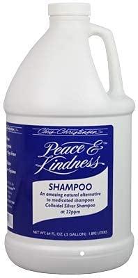 Chris Christensen Shampoo for Dogs - Peace & Kindness Shampoo - Dog Shampoo for Skin Problems - Colloidal Silver Shampoo - 64 Oz.