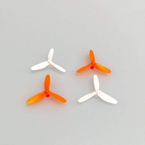 Ersatzteil Rotorblätter 3-Blatt X-UFO 4 68085 X-UFO 4 PRO 68047 X-UFO NEO 4 68215 Mini Quadrocopter orange Weiss Starkid 68660 OW 990241