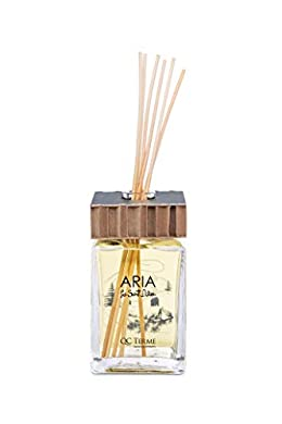Foto di QC Terme Aria PRÉ Saint Didier 250ml Art Edition, Profumatore per Ambiente con Diffusore a Bastoncini, Fragranza Fresca, Fruttata, Legnosa, Speziata e Vanigliata, Made in Italy