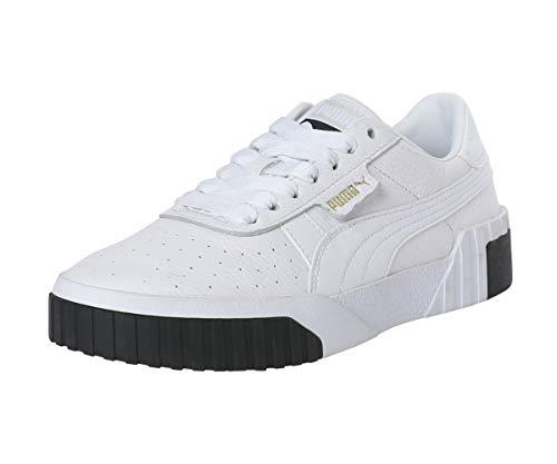 Puma Cali Wn's Zapatillas Mujer, Blanco (Puma White-Puma Black), 38 EU