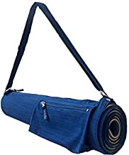 Carry Your om Yoga Mat Bag - Full-Zip Yoga Mat Holder with Liner for Whole Mat Protection - Yoga Accessories for Yoga Mat Storage - Exterior Zip Pocket Storage & Adjustable Strap - Made in The USA