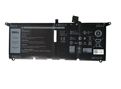 Dell XPS 13 7390 9370 9380, Inspiron 7391 2-In-1 Primary Battery 52Wh 4 Cell - G8VCF DXGH8 H745V 451-BCRE