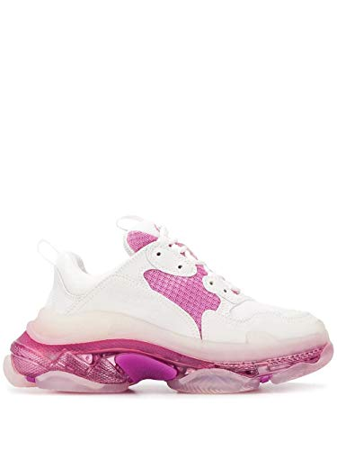 Balenciaga Luxury Fashion Donna 544351W09ON9025 Bianco Pelle Sneakers | Stagione Permanente