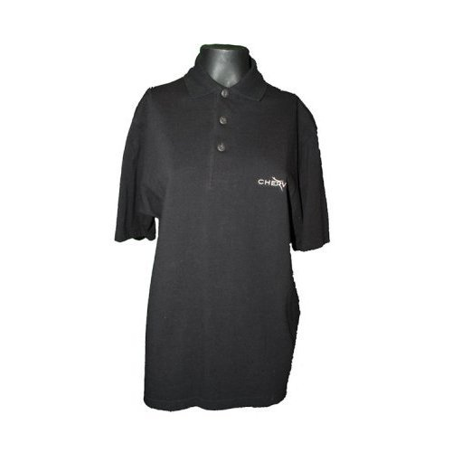 Chervo Golf Abbey - Polo da uomo, taglia S (US), nero