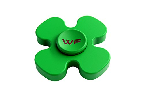 WeFidget Original Mini Lucky Clover, Insanely Smooth, Deceptively Heavy, Aesthetically Pleasing, Perfect for St Patricks Day