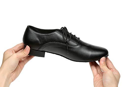 Minitoo ,  Herren Tanzschuhe , Schwarz – schwarz – Größe: 42.5 - 7