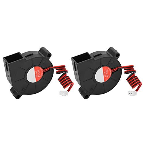 Ventilador de impresora 3D, ventilador de impresora, ventilador de material de impresión, extremos calientes de enfriamiento para impresora 3D para diseño de rodamientos