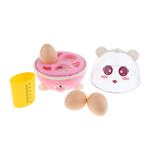 B Blesiya Kinder Elektrischer Eierkocher Küchenspielzeug mit Musik und Licht