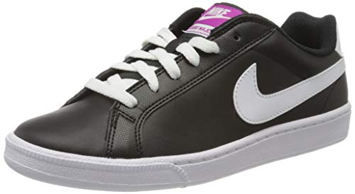 Nike Wmns Court Majestic, Scarpe da Fitness Donna, Nero/Bianco/Fucsia (Black White Fuchsia Flash), 38.5 EU