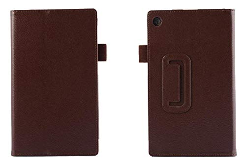 For Lenovo Tab 2 A7-10 A7-10F A7-20 A7-20F Tab2 A7 20 10 Tablet Case Bracket Flip Fashion Leather Cover-For Bracket Brown