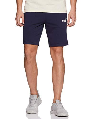 PUMA Ess+ Slim Shorts – Pantaloni Corti da Uomo, Uomo, Pantalone Corto, 852427, Caban, L