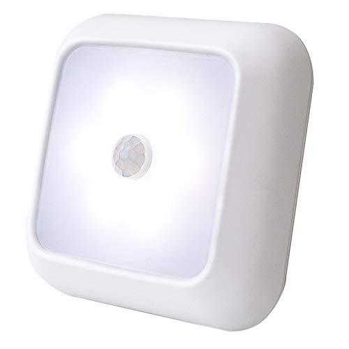 Tabpole Bewegungsmelder-Licht, 6 LEDs, kabellos, batteriebetrieben, Nachtlicht für...