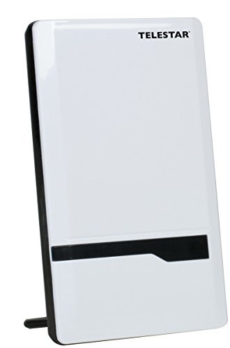 Telestar 5102224 Antenna 7 LTE Aktive DVB-T/DVB-T2 Antenne (H.265/HEVC Standard, HDTV, FullHD, LTE Filter, Verstärkung bis zu 35 dB, LTE Filter, 5V/230V) weiß