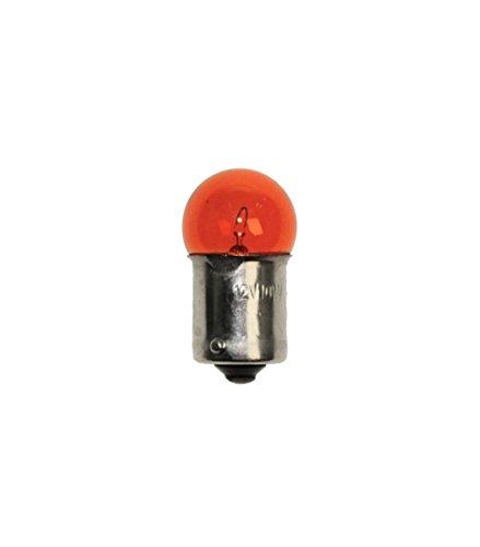 Glühbirne für Blinker (orange) BA 15S G18 12V 10W (Birnenform)