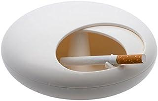 Balvi 24380 - Cenicero de Piedra Blanca hermética, melamina irrompible
