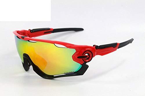 GTVV Outdoor-Reitbrille Sportspiegel Sonnenbrille Multi-Lens