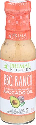 Primal Kitchen, Avocado Oil BBQ Ranch Dressing, 8 Fl Oz