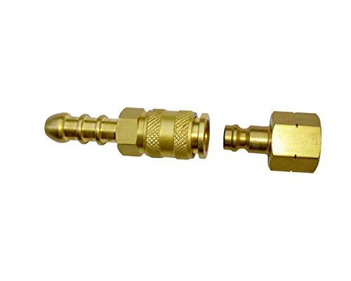 Cadac - Quick Release Brass Tailpiece Gold