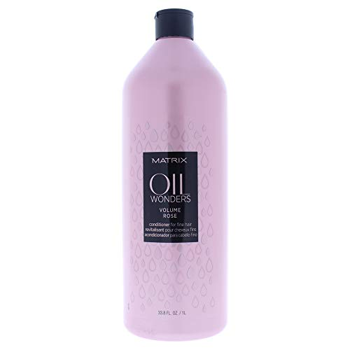 MATRIX Oil Wonders Volume Rose Conditioner, 33.8 Fl Oz