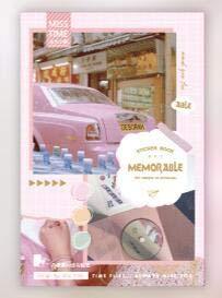 PMSMT 55 unids/Pack papelería Vintage planificador Diario de Viaje Pegatinas Decorativas para móviles Scrapbooking Stick Etiqueta DIY Pegatinas artesanales