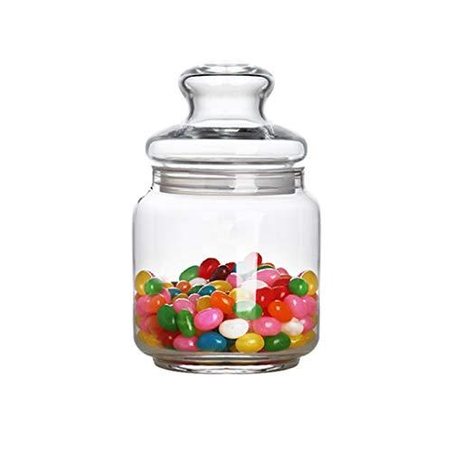 Zsail Transparente Recipientes Cristal con Tapas Sin BPA Cocina Tapers Cristal de...