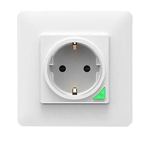 Inteligente Wi-Fi Wireless Power Socket Principal Control de Aplicaciones de Control por Voz Inteligente zócalo del Enchufe estándar de la UE