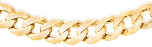 Carissima Gold Collana da Uomo in Oro Giallo 9K (375), 51 cm