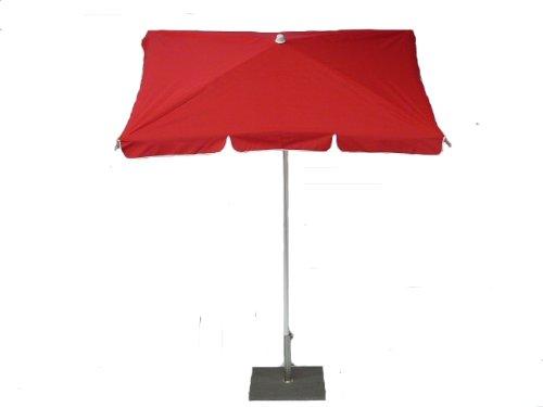 Maffei Giava Parasol Rectangulaire 180X120 cm Inclinaison