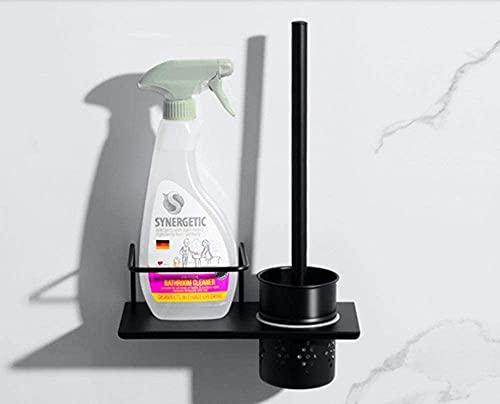 Escobillas De Baño Soporte de cepillo de inodoro de aire nórdico Conjunto de cepillo de inodoro Estante Inodoro Tortífago Titular del cepillo de inodoro Tenedor de cepillo de inodoro Montado en la par