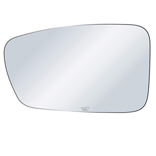 exactafit 8818L Driver Side Mirror Glass Replacement Plus 3M Adhesives Compatible With Hyundai Sonata 2011-2014 Left Hand Door Wing LH