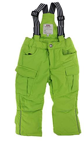 Kanz Kinder-Jungen Schneehose Outdoor Zone neon grün, Gr. 152 (152)