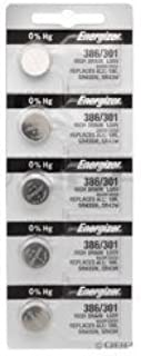 Energizer 386/301 TS SILVER OXIDE CD/5