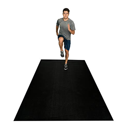 Square36 Large Exercise Mat 12 Ft x 6 Ft x 7mm (144' x 72')...