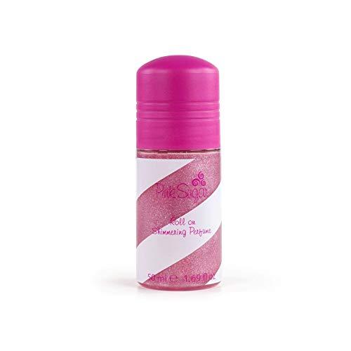 Pink Sugar Roll-On Shimmering Perfume 50 ml Eau de Toilette pour Femme avec paillettes
