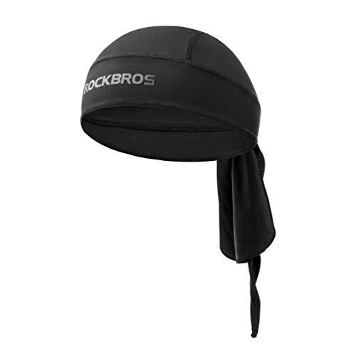 ROCKBROS Bandana Cap Kopftuch Atmungsaktiv Fahrrad Kopfbedeckung UV Schutz Schnelltrocknend für Damen und Herren, Outdoor Sport